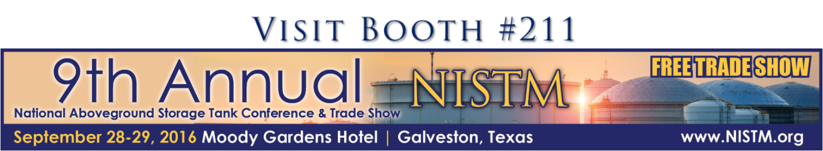 Find us at the NISTM Booth 211